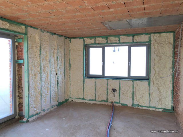 Green team isolation des murs par l 39 interieur for Isolation interieur murs