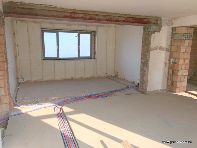 Green team isolation des murs par l 39 interieur for Isolation mur interieur renovation